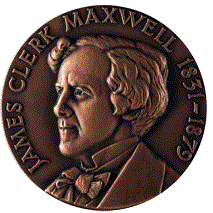 James Clerk Maxwell medal awarded by the Institute of Physics.