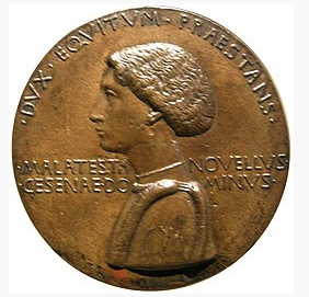 Medal attributed to Pisanello depicting Malatesta Novello