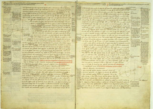 Ptolemy, Almagest. In Latin. Translated by Gerard of Cremona. Parchment. Thirteenth century