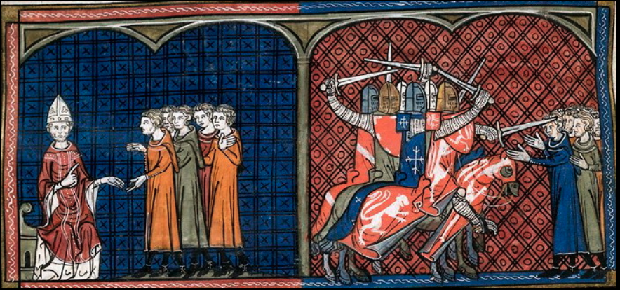Innocent launched the Albigensian Crusade against the Cathars.