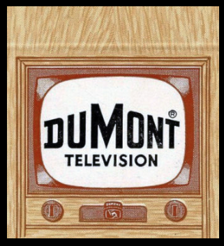 DUMONT TELEVISION 1951 matchbook cover art