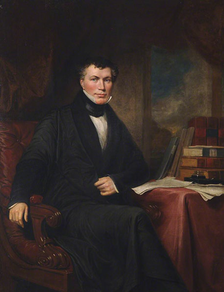 Painting of William Whewell. Trinity College, Cambridge.