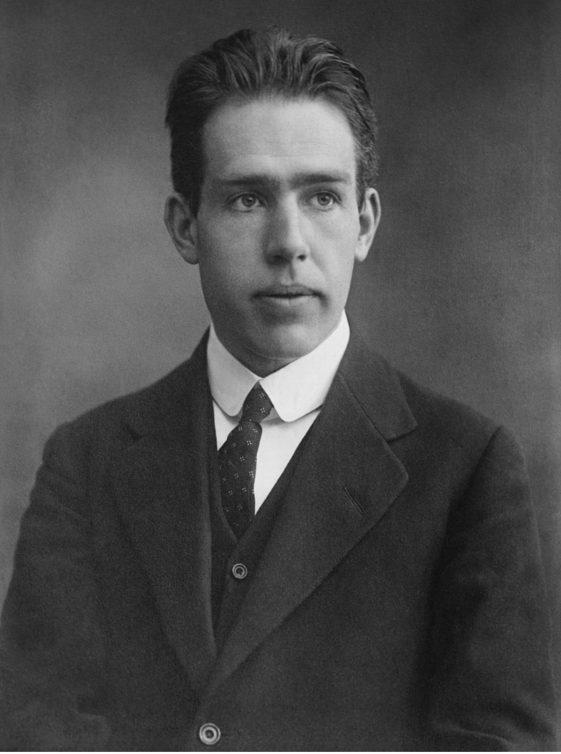 photograph of Neils Bohr