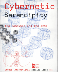 Cover of the Cybernetic Serendipity catalogue