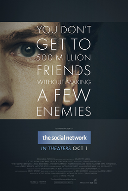 The Social Network film poster