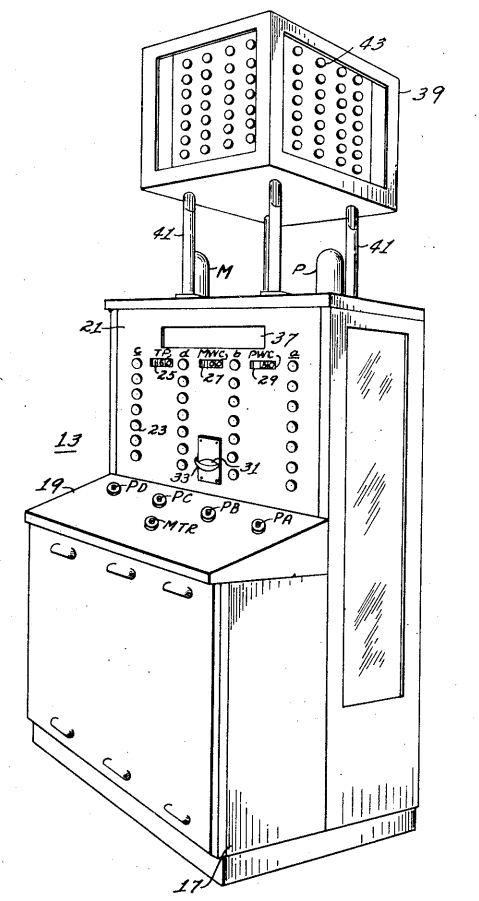 Patent drawing of Nimrod