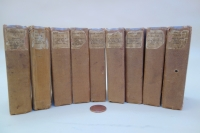 The tiny Pickering Diamond Classic Shakespeare set of 9 volumes in original publisher