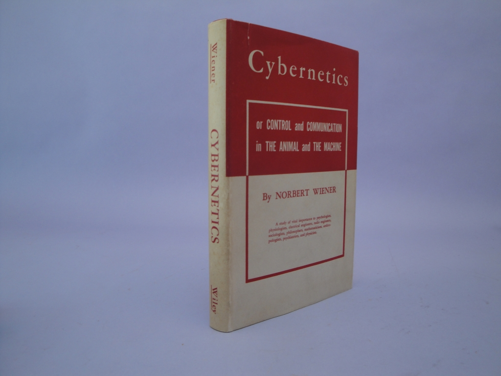 The first American printing of Cybernetics.