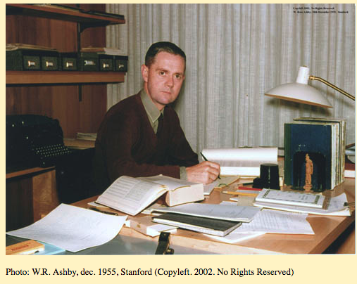Ashby at Stanford in 1955.
