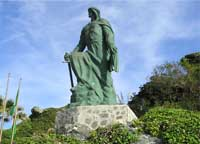 A statue of Abd ar-Rahman in Almuñécar, Spain. (View Larger)