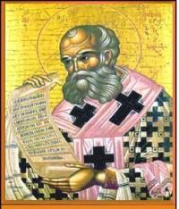 Athanasius, Bishop of Alexandria. (View Larger)
