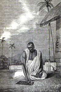 A portrait of Brahmagupta. (View Larger)