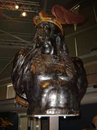 A statue of Brennus by an unknown French artist. (View Larger)