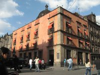 The 'Casa de la Primera Imprenta de América,' where printer Juan Pablos printed what is likely the first book in the Western Hemisphere, still stands today in Mexico City.  (View Larger)