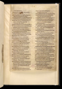 A page from the Ceolfrid Bible. (View Larger)