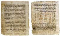 Several pages from te Codex Climaci Rescriptus. (View Larger)