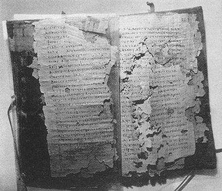 Codex IV found at Nag Hammadi. (View Larger)