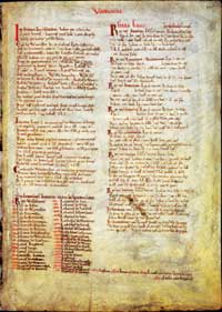 A page of the Domesday Book on Warwickshire. (View Larger)