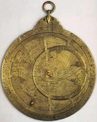 The earliest astrolabe. (View Larger)