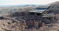 The Göbekli Tepe, Turkist for 'Potbelly Hill,' is the oldest discovered structure for religious worship. (View Larger)