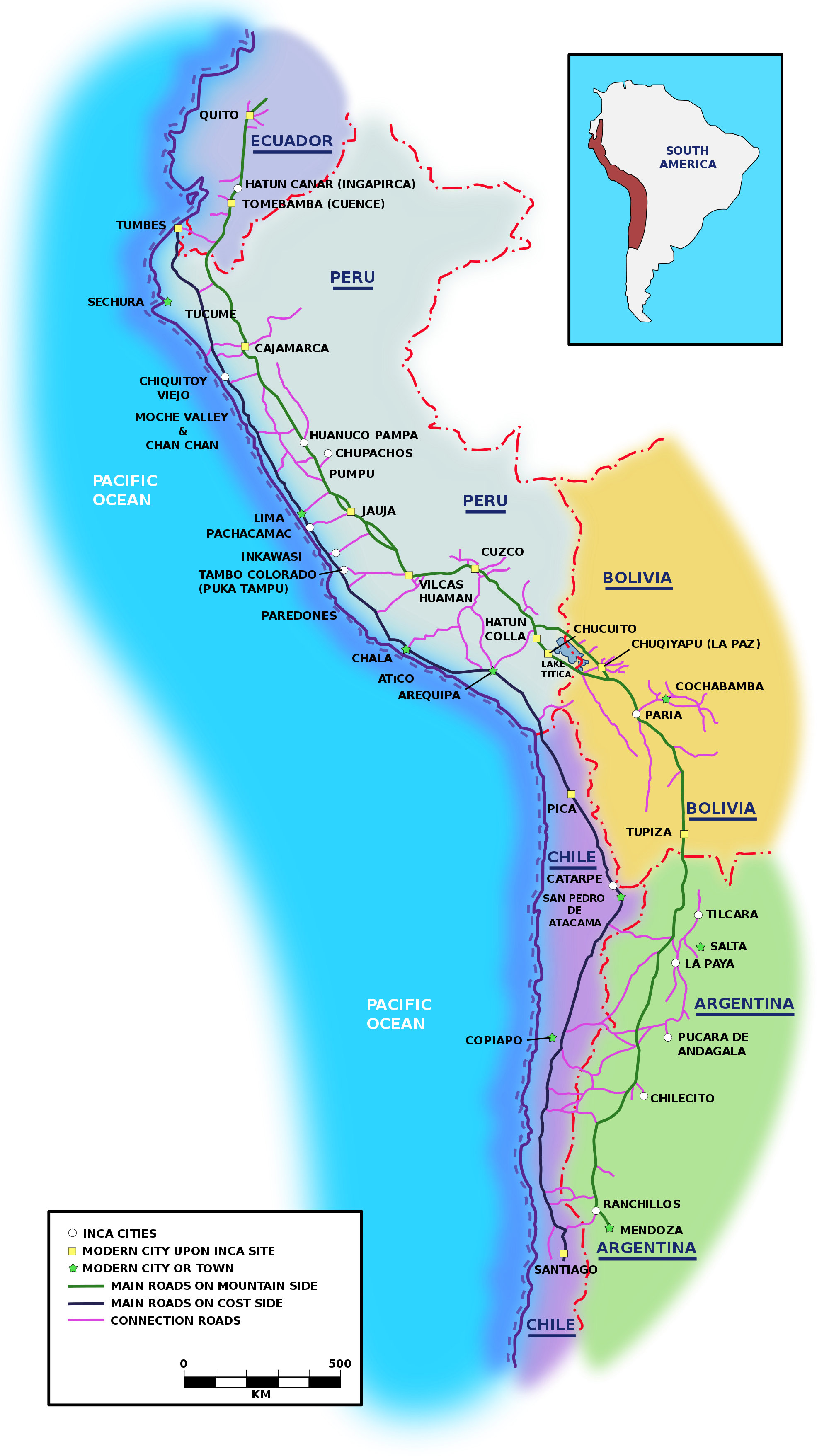 The Inca Road System (1453 – 1533) : From Cave Paintings to the ...