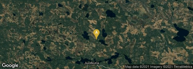 Detail map of Finland