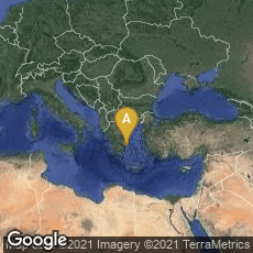 Overview map of Athina, Greece,Athina, Greece