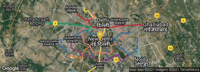 Detail map of Punjabi Bagh Cooperative Housing Soceity, MO, Karol Bagh, New Delhi, Delhi, India