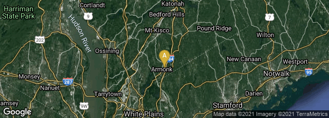 Detail map of Armonk, New York, United States