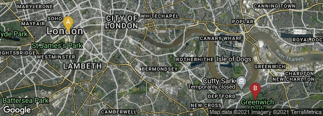 Detail map of London, England, United Kingdom,London, England, United Kingdom