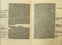 Christopher Columbus's annotated copy of 'Il Milione.' (View Larger)