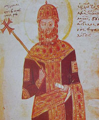 Portrait of Michael VII Palaiologos. (View Larger)