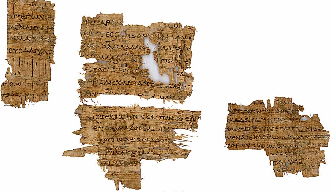 Fragments of the Odyssey, most likely copied in Alexandria.