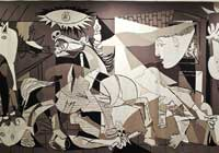 Picasso's Guernica. (View Larger)