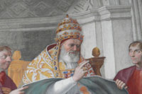 A portrait of Pope Gregory IX. (View Larger)
