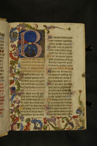 Folio 3r of the Psałterz Floriansk. (View Larger)