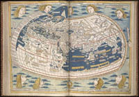 The world-map from the 1482 Ulm edition of Ptolemy's Cosmographia.