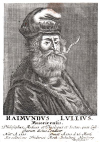 A portrait of Ramon Llull. (View Larger)