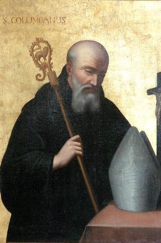 Saint Columbanus (View larger)