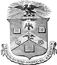 The seal of the Guild of Stationers.