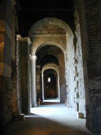An interior corridor of the Tabularium. (View Larger)