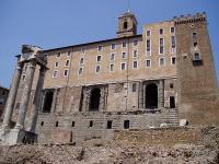 The Roman Tabularium. (View Larger)