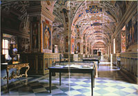 A hall of the Vatican Library. (View Larger)
