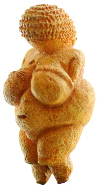 The Venus of Willendorf. (View Larger)