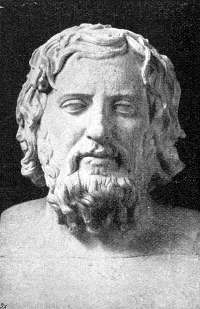 A bust of Xenophon. (View Larger)